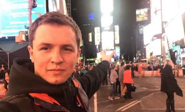 new york нью йорк Олесь Тимофеев личный видео блог
